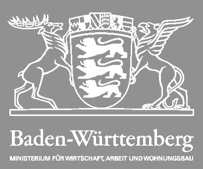 Logo - Förderung durch Bundesministerium für Wirtschaft des Landes Baden-Württemberg