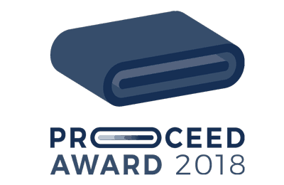 Logo des Proceed Award 2018 des BITO Campus