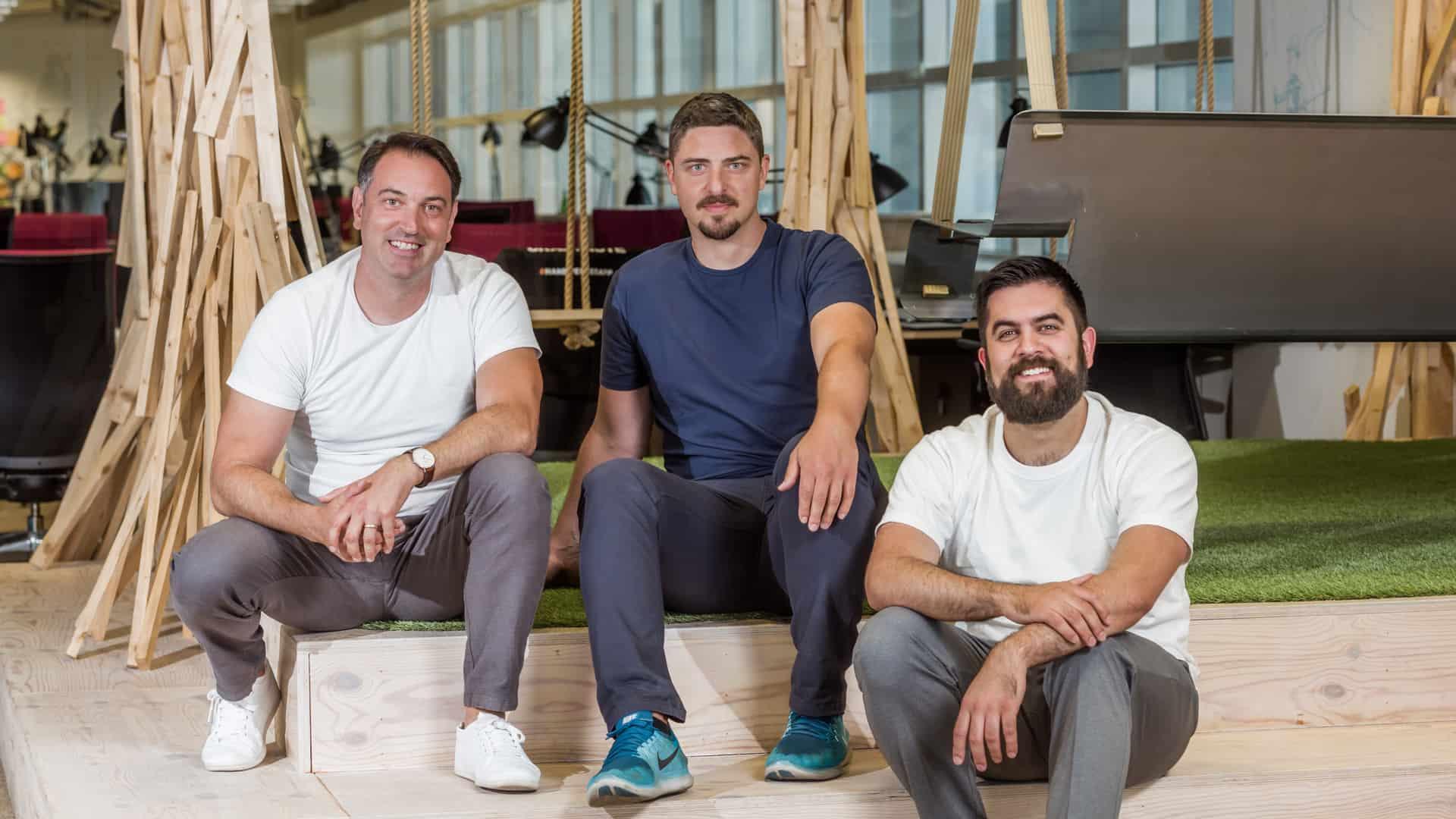 Industry List Gründer Maik Schwarz, Patrick Biermann und Jonathan Meier